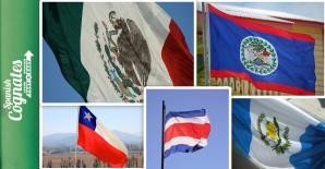 Flags of countries that celebrate independence